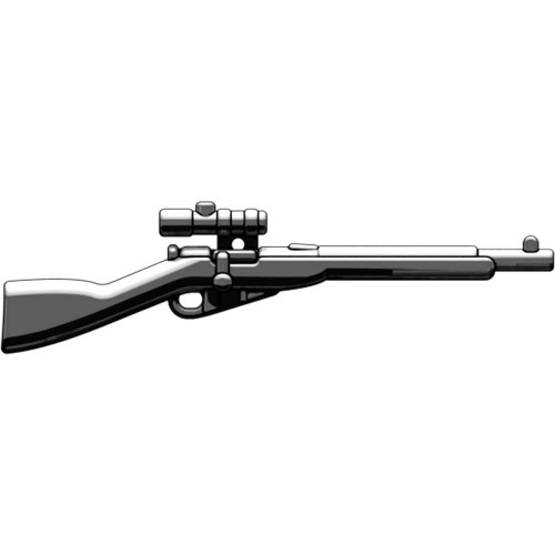 BrickArms Mosin Nagant with Scope 2.5-Inch [Black]