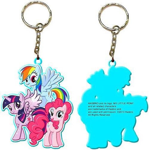 My Little Pony Pony Group Keychain