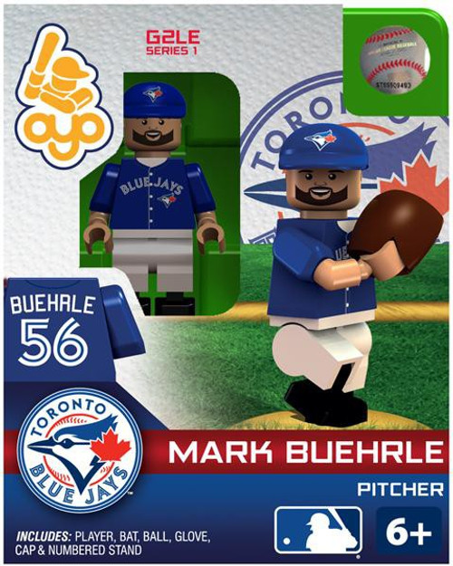 Toronto Blue Jays MLB Generation 2 Series 1 Mark Buehrle Minifigure