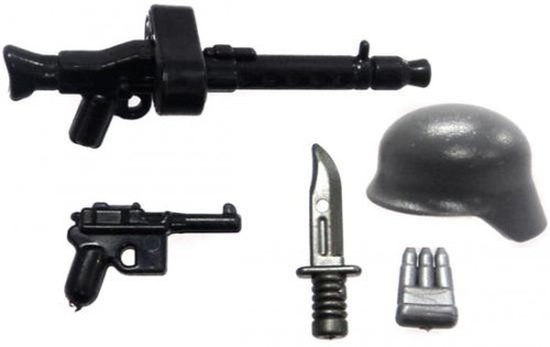 BrickArms German Support Gunner Battle Kit Exclusive 2.5-Inch Weapons Pack
