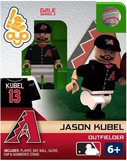 Arizona Diamondbacks MLB Generation 2 Series 3 Jason Kubel Minifigure