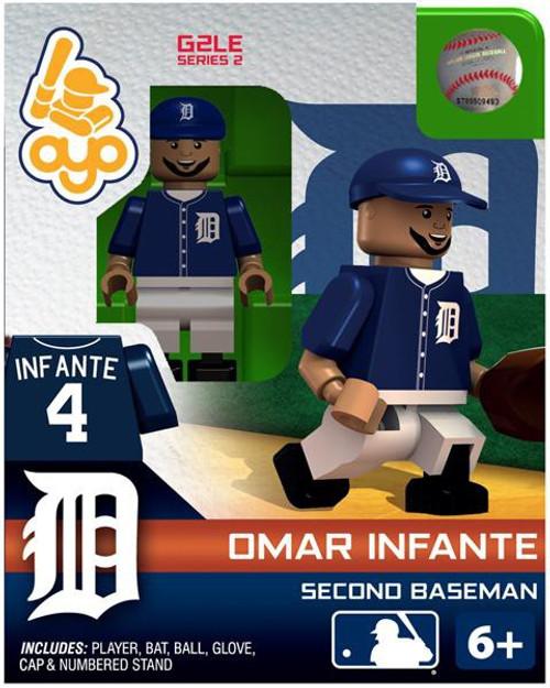Detroit Tigers MLB Generation 2 Series 2 Omar Infante Minifigure