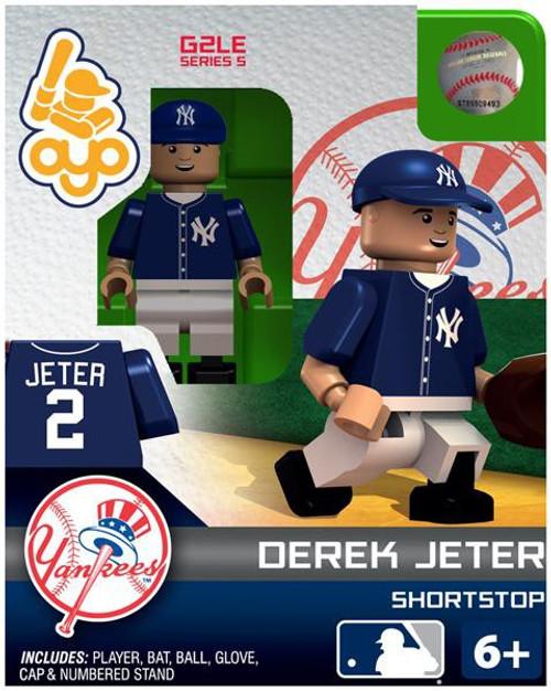 New York Yankees MLB Generation 2 Series 5 Derek Jeter Minifigure