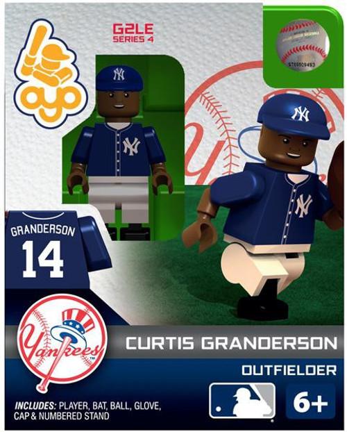 New York Yankees MLB Generation 2 Series 4 Curtis Granderson Minifigure