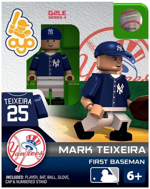 New York Yankees MLB Generation 2 Series 4 Mark Teixeira Minifigure