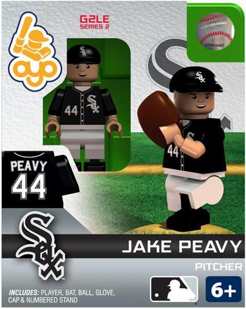 Chicago White Sox MLB Generation 2 Series 2 Jake Peavy Minifigure