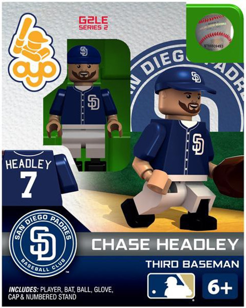 San Diego Padres MLB Generation 2 Series 2 Chase Headley Minifigure