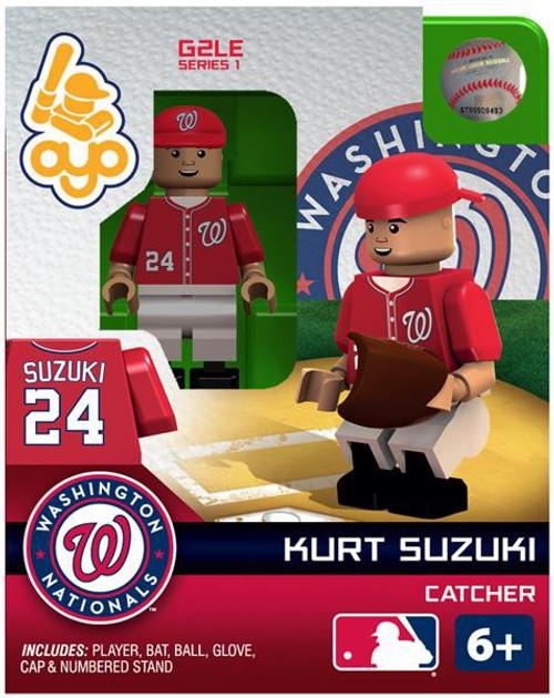 Washington Nationals MLB Generation 2 Series 1 Kurt Suzuki Minifigure