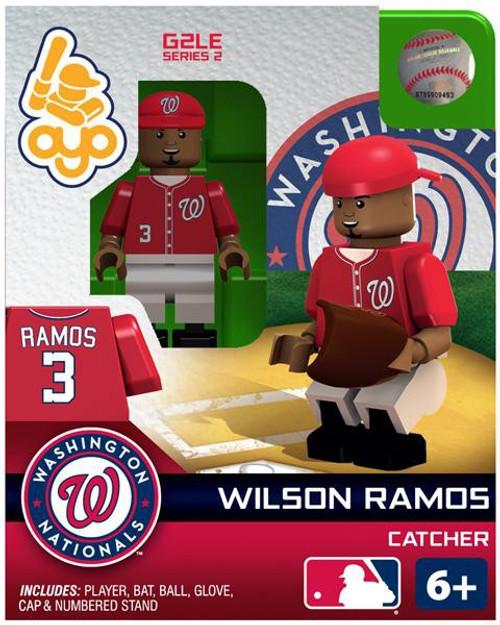 Washington Nationals MLB Generation 2 Series 2 Wilson Ramos Minifigure