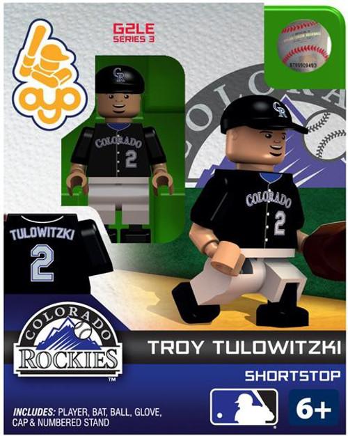 Colorado Rockies MLB Generation 2 Series 3 Troy Tulowitzki Minifigure