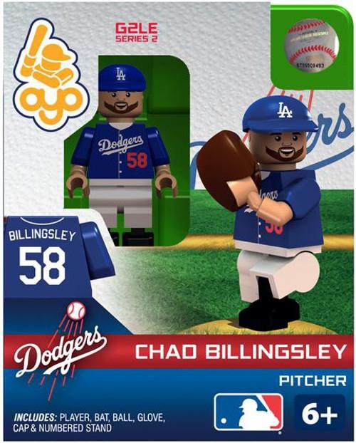 Los Angeles Dodgers MLB Generation 2 Series 2 Chad Billingsley Minifigure