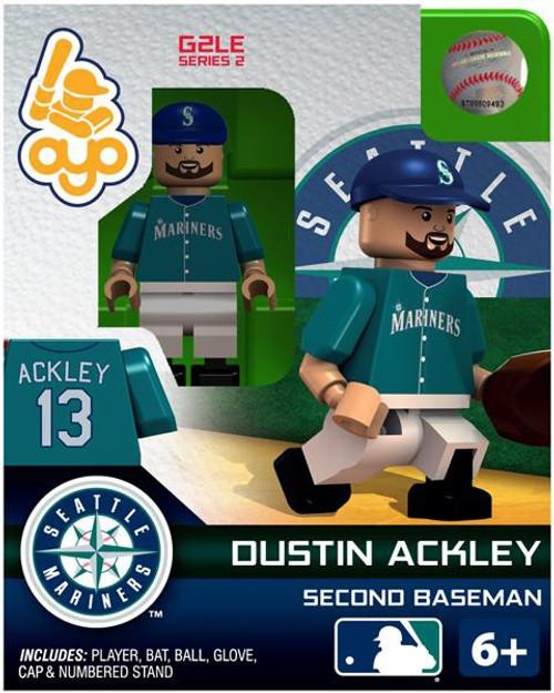 Seattle Mariners MLB Generation 2 Series 2 Dustin Ackley Minifigure