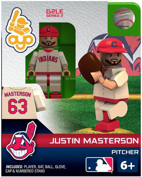 Cleveland Indians MLB Generation 2 Series 2 Juston Masterson Minifigure