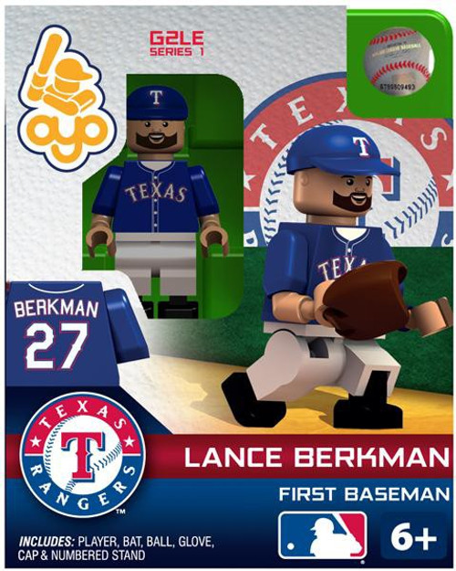 Texas Rangers MLB Generation 2 Series 1 Lance Berkman Minifigure