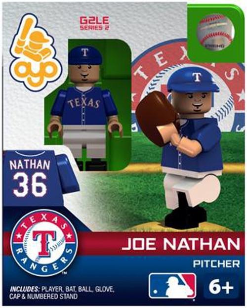 Texas Rangers MLB Generation 2 Series 2 Joe Nathan Minifigure