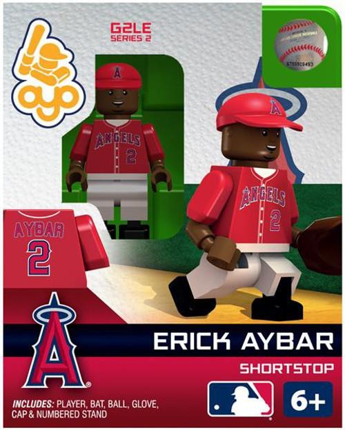 Los Angeles Angels MLB Generation 2 Series 2 Erick Aybar Minifigure