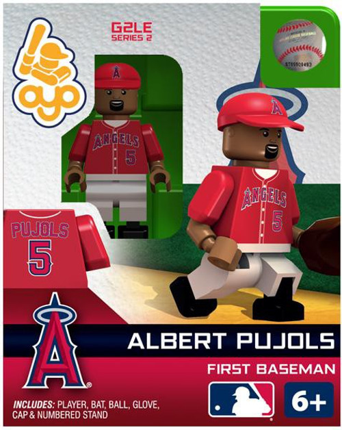 Los Angeles Angels MLB Generation 2 Series 2 Albert Pujols Minifigure