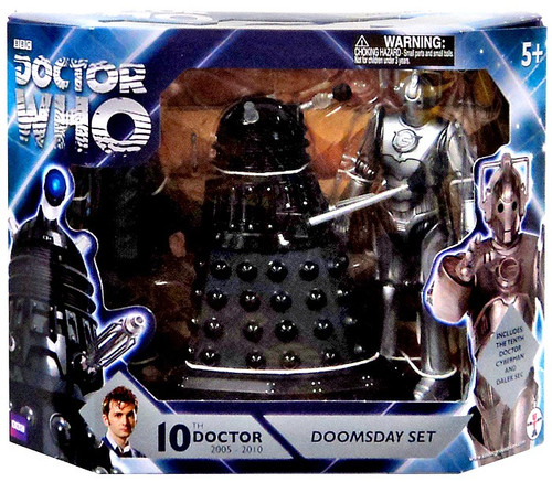 Doctor Who Doomsday Set Action Figure Set