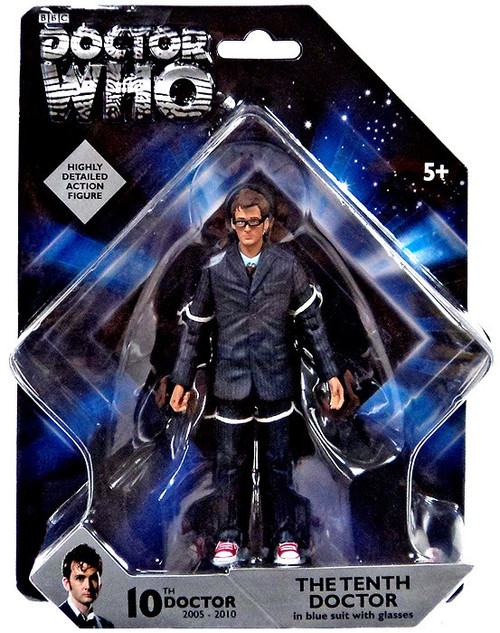 Doctor Who The Tenth Doctor Action Figure [Blue Suit]