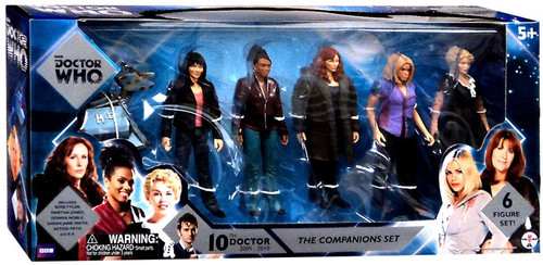 Doctor Who The Companions Set Action Figure 5-Pack