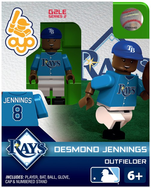Tampa Bay Rays MLB Generation 2 Series 2 Desmond Jennings Minifigure