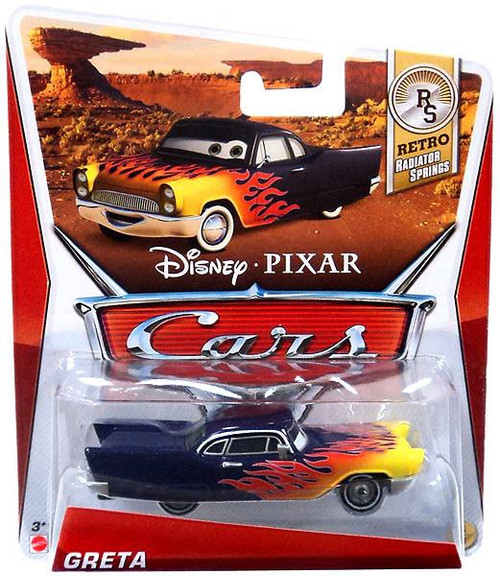 Disney / Pixar Cars Series 3 Greta Diecast Car