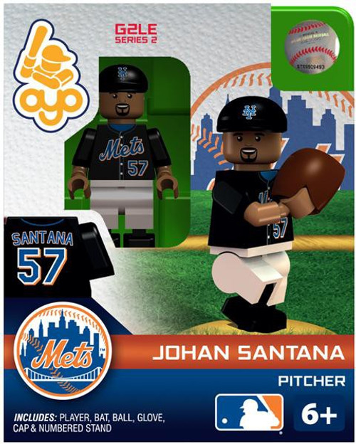 New York Mets MLB Generation 2 Series 2 Johan Santana Minifigure