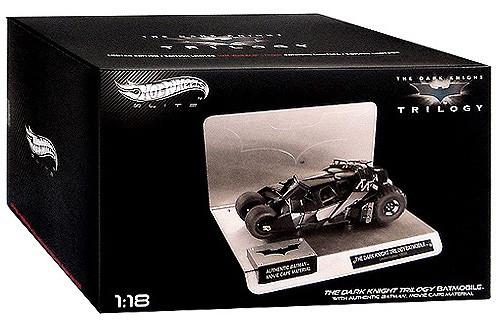 Batman The Dark Knight Hot Wheels Elite Batmobile Die-Cast Car [Tumbler]