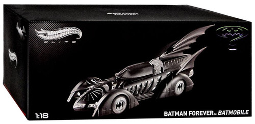 Hot Wheels Elite Batman Forever Batmobile Diecast Model