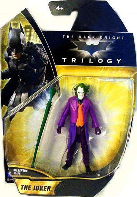 Batman The Dark Knight The Joker Exclusive Action Figure [Smashing Staff]