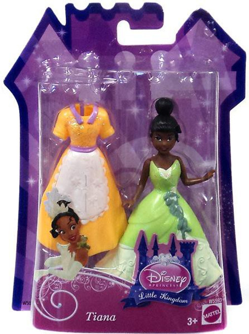 Disney Princess The Princess and the Frog Little Kingdom Tiana Figure [Glitter Stretch Fashion]
