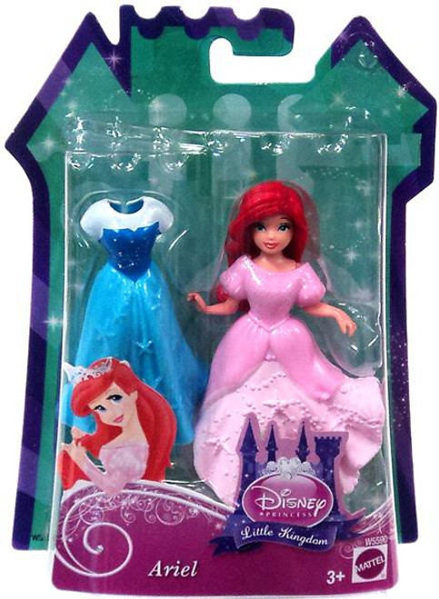 Disney Princess The Little Mermaid Little Kingdom Ariel 11.5-Inch Figure [Glitter Stretch Fashion]
