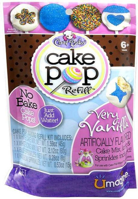 Umagine Cool Baker Cake Pop Refill Pack [Very Vanilla]