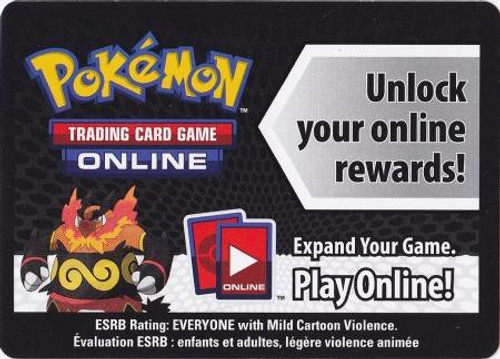 Trading Card Game Online Code Card Promo Code Card for Pokemon TCG Online [Emboar Tin]