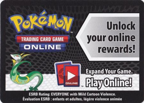 Trading Card Game Online Code Card Promo Code Card for Pokemon TCG Online [Serperior Tin]