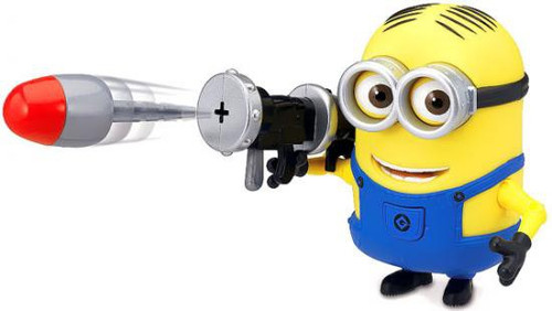 Despicable Me 2 Minion Dave Action Figure [Rocket Launcher ]