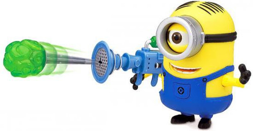 Despicable Me 2 Minion Stuart Action Figure [Fart Dart Launcher]