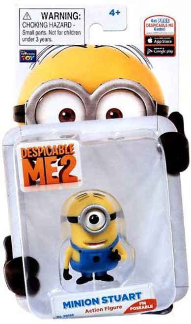 Despicable Me 2 Minion Stuart Action Figure