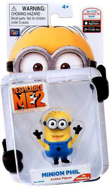 Despicable Me 2 Minion Phil Action Figure