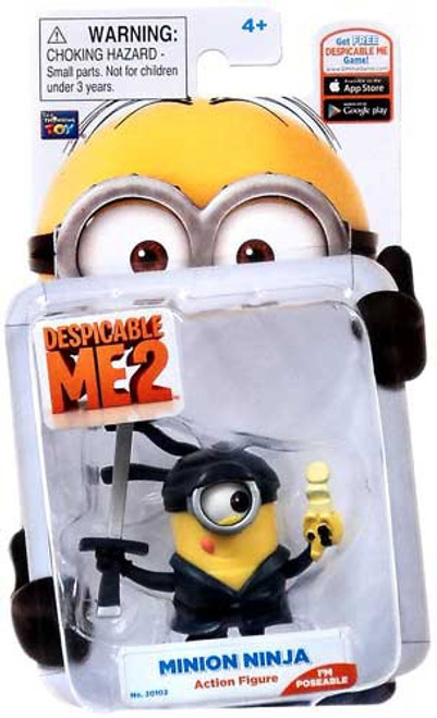 Despicable Me 2 Minion Ninja Action Figure