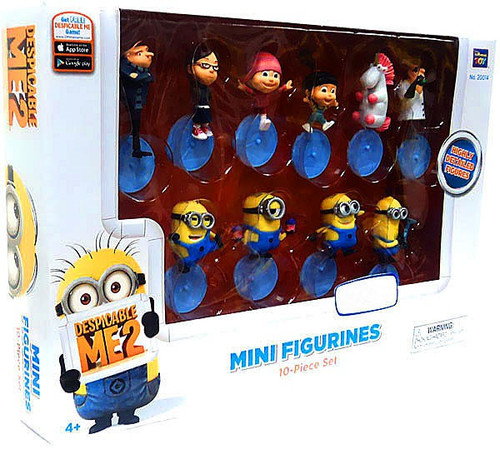 Despicable Me 2 Exclusive 2-Inch Mini Figure 10-Pack Set
