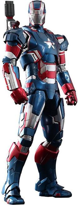 Iron Man 3 Movie Masterpiece Iron Patriot Collectible Figure