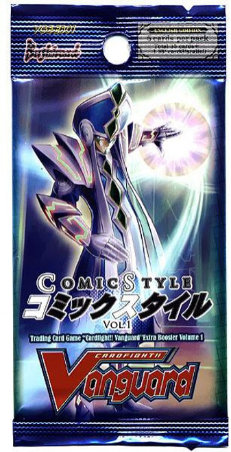 Cardfight Vanguard Trading Card Game Comic Style Vol. 1 Booster Pack