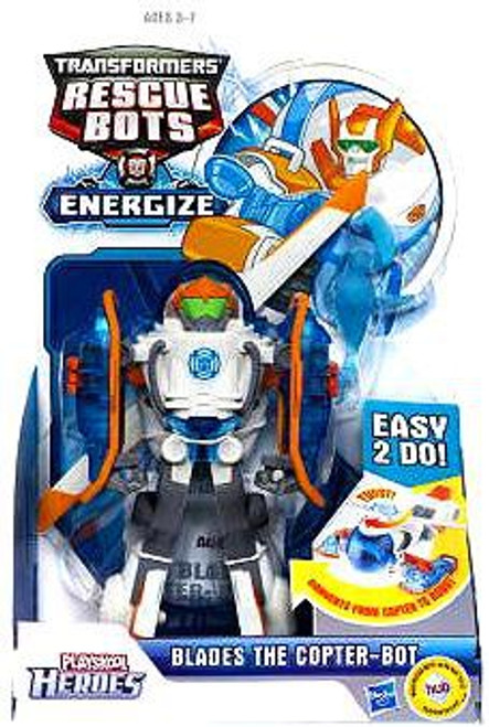 Transformers Playskool Heroes Rescue Bots Blades the Copter-Bot Action Figure 2-Pack