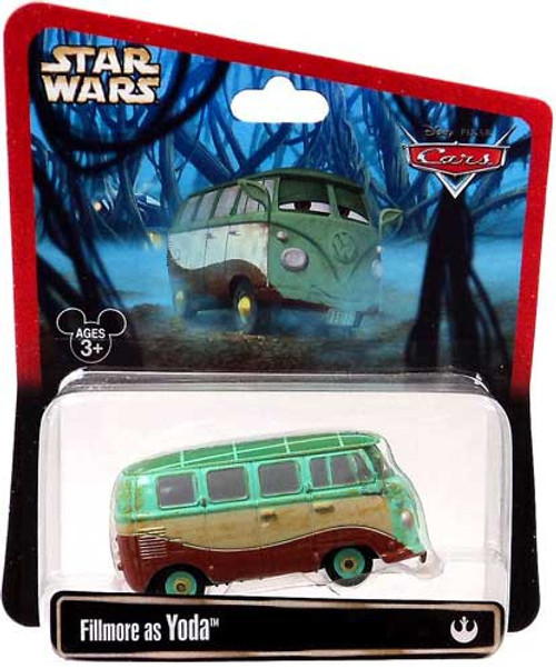 Disney / Pixar Cars Star Wars Fillmore as Yoda Exclusive Diecast Car