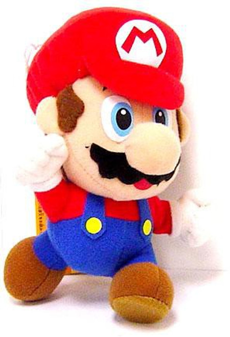 New Super Mario Bros Wii Leaping Mario 6-Inch Plush