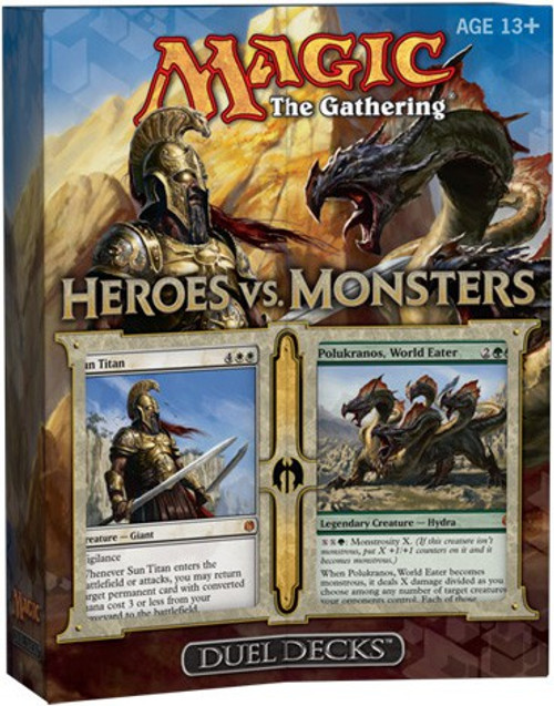 MtG Trading Card Game Heroes vs. Monsters Duel Decks