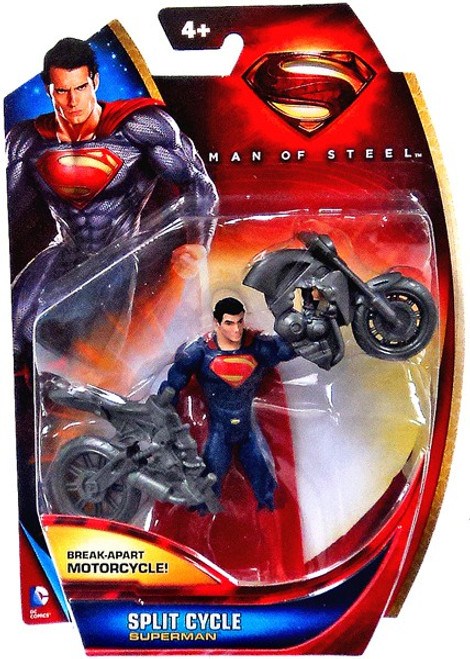 Man of Steel Superman Action Figure [Split Cycle]