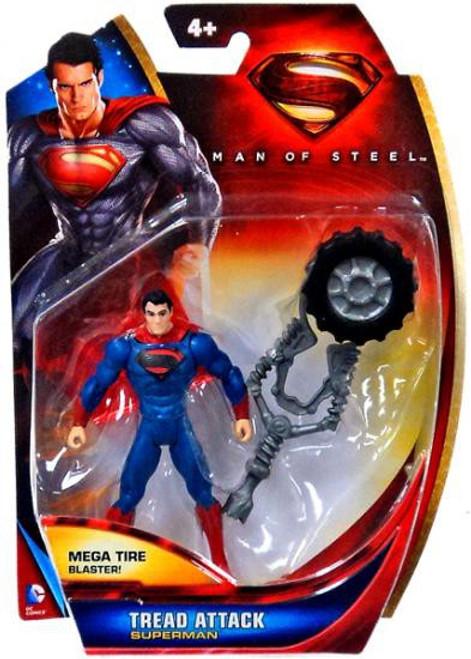 Man of Steel Superman Action Figure [Tread Attack]