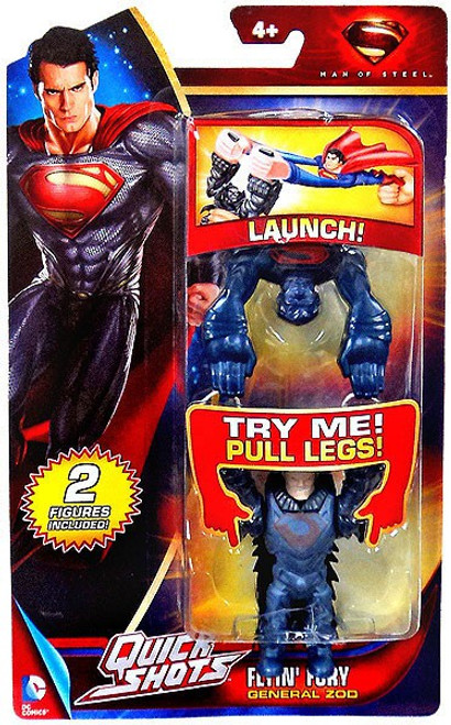 Superman Man of Steel Quick Shots General Zod Figure [Flyin' Fury]